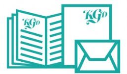 Papelarias, folders, convites...